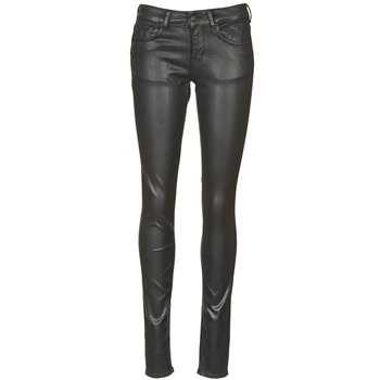 material Women slim jeans Cimarron ROSIE JEATHER Black