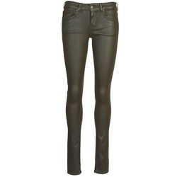 material Women 5-pocket trousers Cimarron ROSIE JEATHER Black