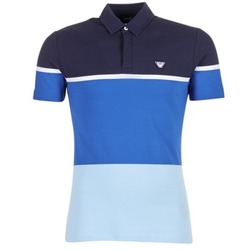 material Men short-sleeved polo shirts Armani jeans MARAFOTA Blue