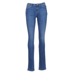 material Women straight jeans Armani jeans HOUKITI Blue