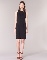 material Women Short Dresses Armani jeans ODIALINA Black