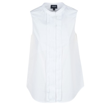 material Women Shirts Armani jeans GIKALO White