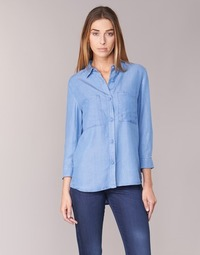 material Women Shirts Armani jeans OUSKILA Blue