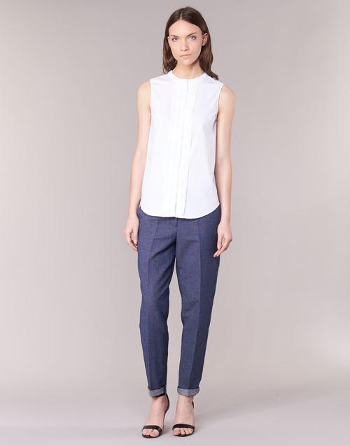 material Women 5-pocket trousers Armani jeans JAFLORE Blue