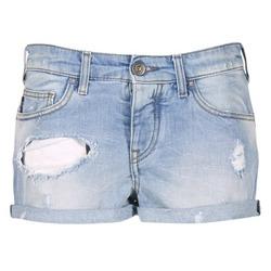material Women Shorts / Bermudas Armani jeans JUTELAPO Blue