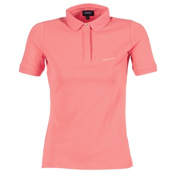 material Women short-sleeved polo shirts Armani jeans IMALORE Pink