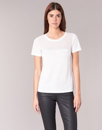 material Women short-sleeved t-shirts Armani jeans KAJOLA White
