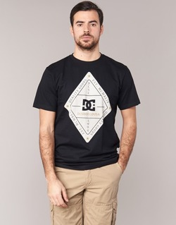 material Men short-sleeved t-shirts DC Shoes LONG DAY SS Black