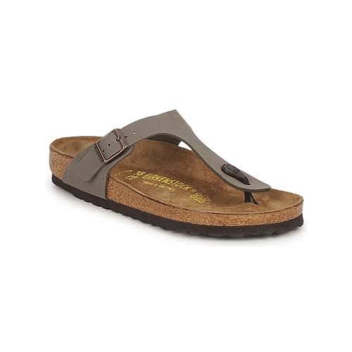 Shoes Women Flip flops Birkenstock GIZEH Stone