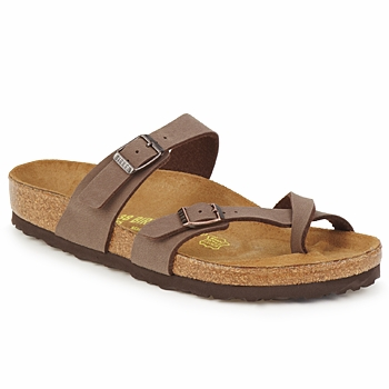 Shoes Women Mules Birkenstock MAYARI Cafe