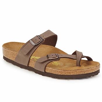 Shoes Women Mules Birkenstock MAYARI Cafe