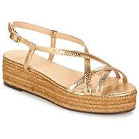 Shoes Women Sandals Castaner MAGDALENA Gold