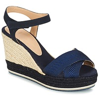 Shoes Women Sandals Castaner VERONICA Marine / Black