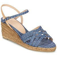 Shoes Women Sandals Castaner BETSY Blue / BEIGE
