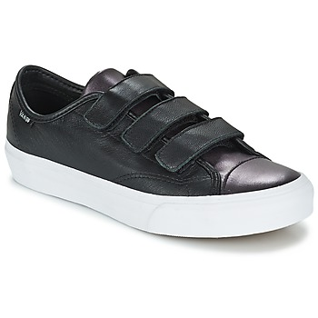 Shoes Women Low top trainers Vans PRISON ISSUE Black