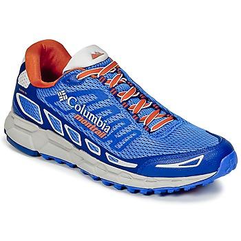 Shoes Men Running shoes Columbia BAJADA™ III Blue / Orange