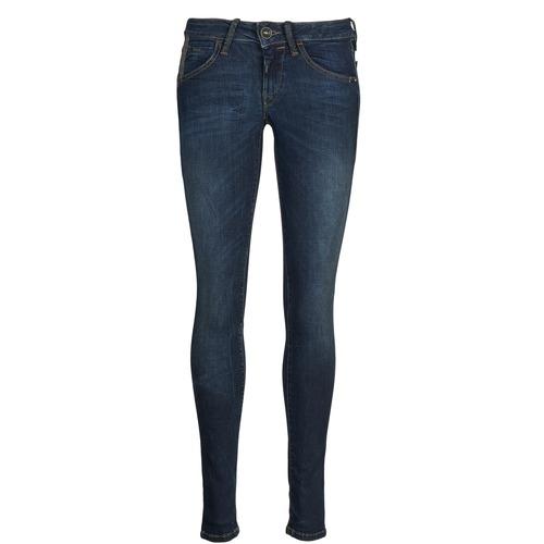 material Women slim jeans Fornarina EVA 78 Blue / Raw