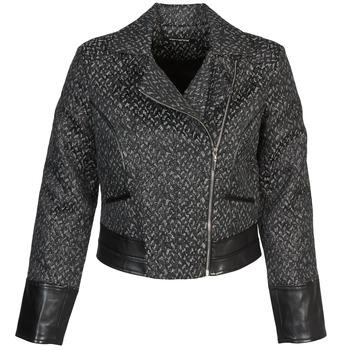 material Women Blouses Fornarina SELINE Grey / Black