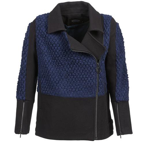 material Women Blouses Eleven Paris FLEITZ Black / Blue