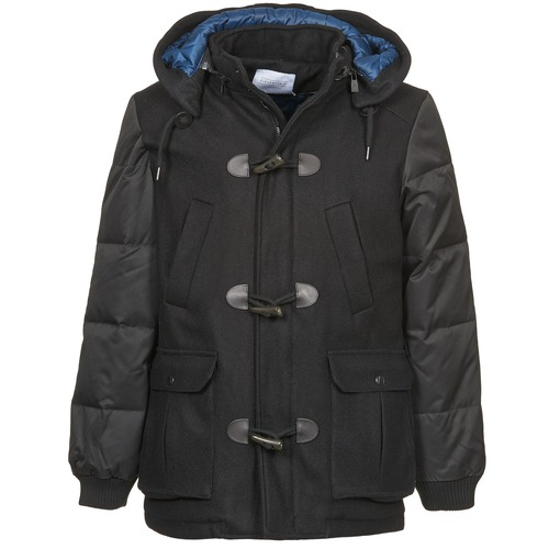 material Men coats Eleven Paris KINCI Black