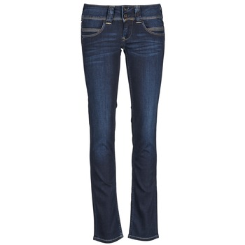 material Women straight jeans Pepe jeans VENUS Blue / H06