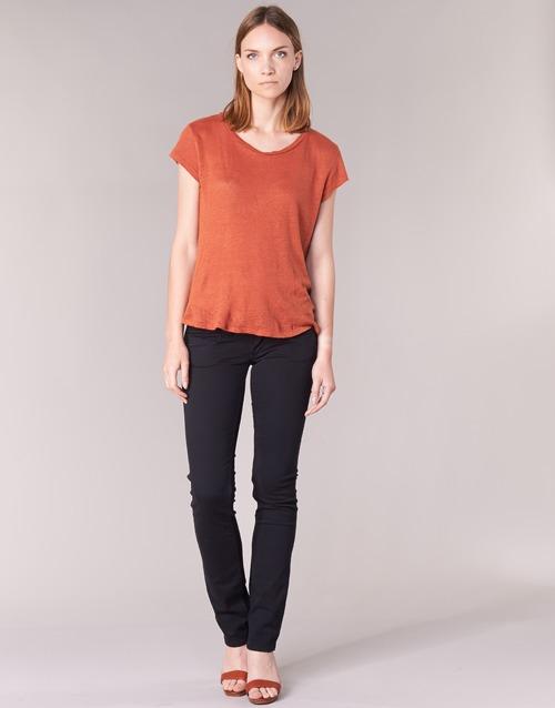 material Women 5-pocket trousers Pepe jeans VENUS Black / 999