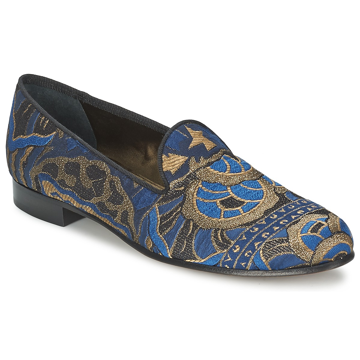 Smart-shoes Etro 3046 Black / Blue