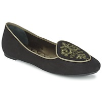 Shoes Women Ballerinas Etro 3059 Black / Kaki