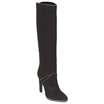 Shoes Women Boots Etro 3119 Black / Gold