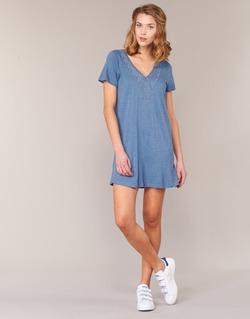 material Women Short Dresses Roxy DUSTIN Blue