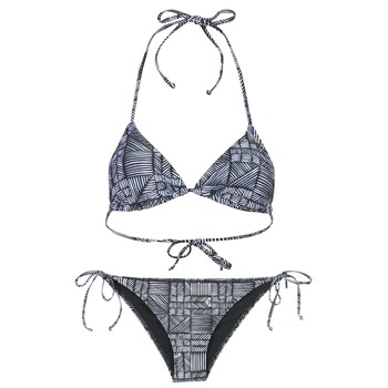 material Women Bikini Roxy DOLTY Black / White