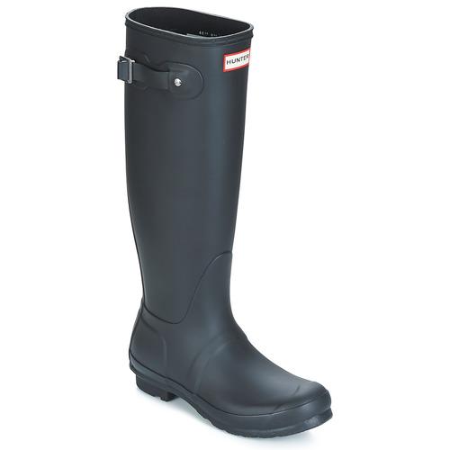 Shoes Women Wellington boots Hunter WOMEN'S ORIGINAL TALL Black