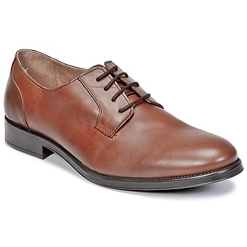 Shoes Men Derby shoes Selected OLIVER COGNAC