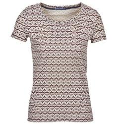 material Women short-sleeved t-shirts Petit Bateau 10620 Multicoloured