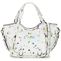 Bags Women Shoulder bags Desigual ROTTERDAM MINI NEW SPLATT White