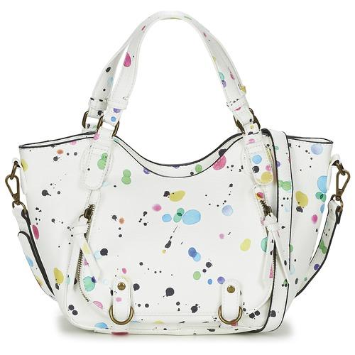 Bags Women Shoulder bags Desigual ROTTERDAM MINI NEW SPLATT White