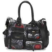 Bags Women Shoulder bags Desigual LONDON MEDIUM BARBADOS Black