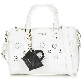 Bags Women Handbags Desigual BOWLING VANESA White