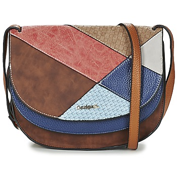 Bags Women Shoulder bags Desigual ATLES TURÍN Multicoloured