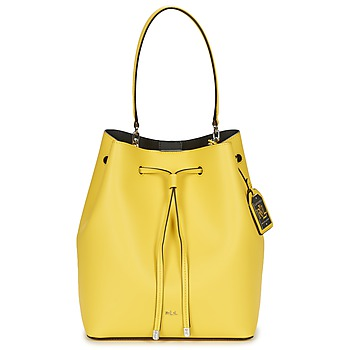 Bags Women Handbags Ralph Lauren DRYDEN DEBBY DRAWSTRING Yellow