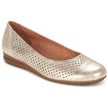 Shoes Women Ballerinas Gabor ELASSY Gold
