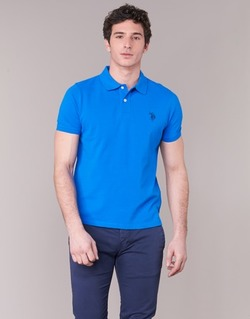 material Men short-sleeved polo shirts U.S Polo Assn. INSTITUTIONAL Blue