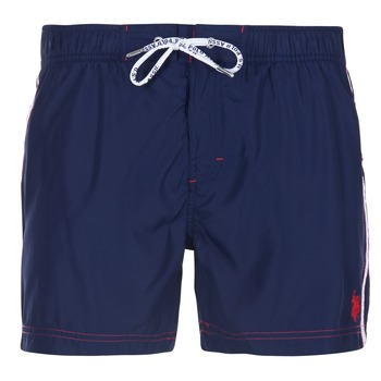 material Men Trunks / Swim shorts U.S Polo Assn. AXEL SWIM TRUNK MED Marine