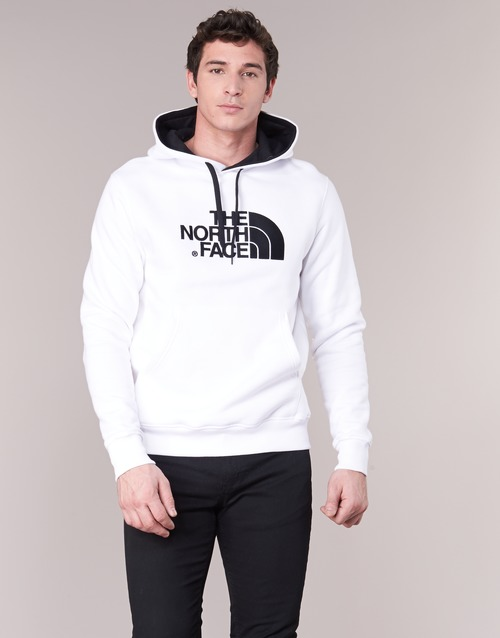 material Men sweaters The North Face DREW PEAK PULLOVER HOODIE White