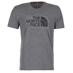 material Men short-sleeved t-shirts The North Face EASY TEE Grey