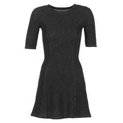 material Women Short Dresses Loreak Mendian ZENIT Black