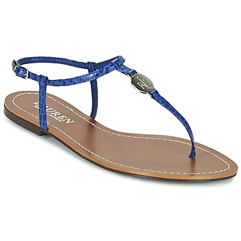 Shoes Women Flip flops Lauren Ralph Lauren AIMON SANDALS CASUAL Blue
