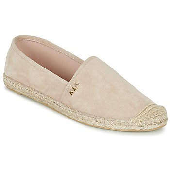 Shoes Women Espadrilles Ralph Lauren DANITA ESPADRILLES CASUAL Pink