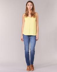 material Women slim jeans Lee ELLY Blue / Medium