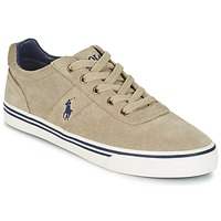 Shoes Men Low top trainers Polo Ralph Lauren HANFORD Taupe